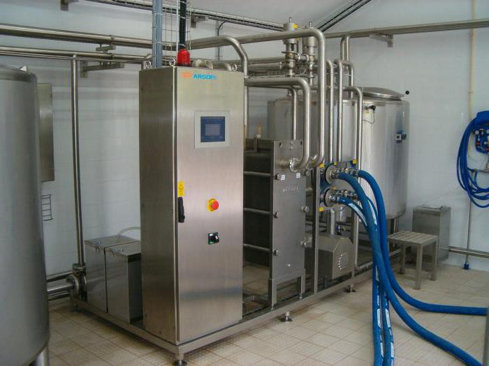 Промышленные установки для перекачивания молока