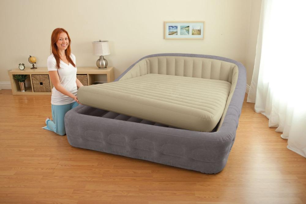 Надувная кровать с быльцами