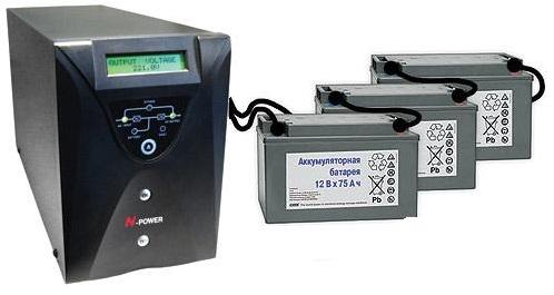 Бесперебойник для систем отопления