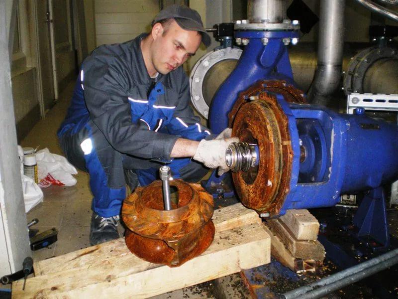 Ремонт промышленного оборудования на месте установки