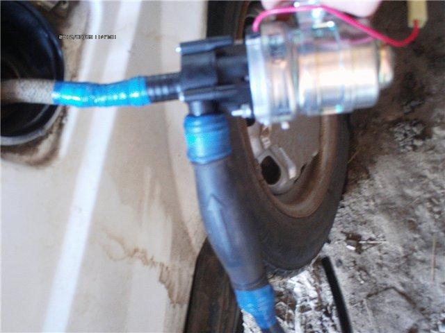 Самодельный 12-вольтовый насос для перекачки топлива