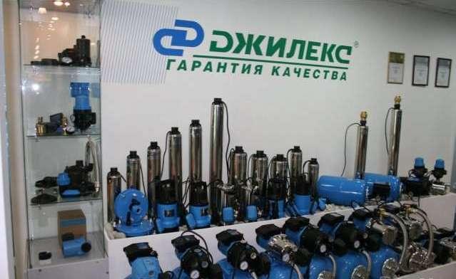 Витрина насосного оборудования Джилекс