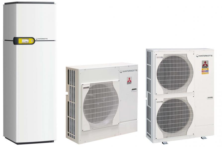 Воздушные тепловые насосы для отопления