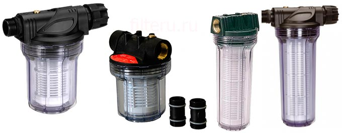 Популярные фильтры для личных насосных станций