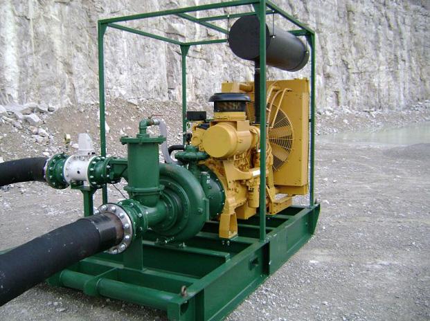 Pioneer Pump 100SH с двигателем Caterpillar C9