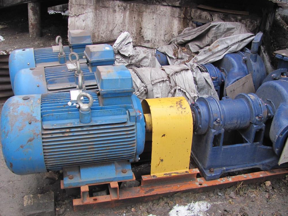 Агрегат насосный ПБ 250/56 с электродвигателем 110/1500