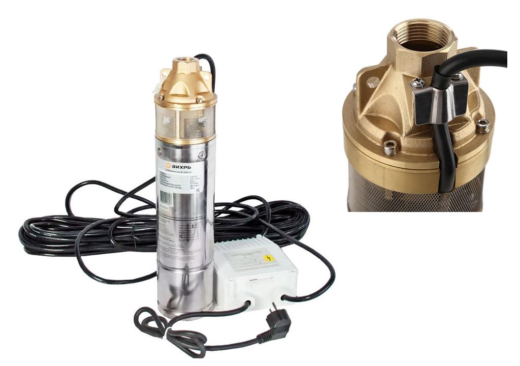 Скважинные насосы Вихрь - виды и модельный ряд, характеристики скважинных насосов Вихрь, а также советы по выбору и установке.