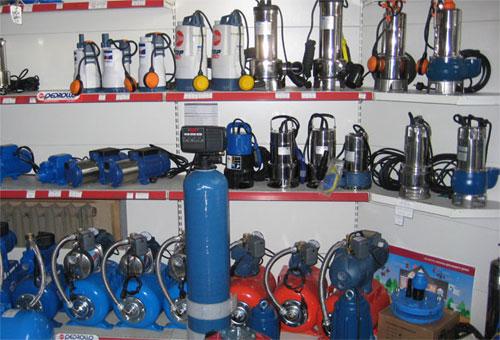 Ассортимент насосного оборудования Pedrollo