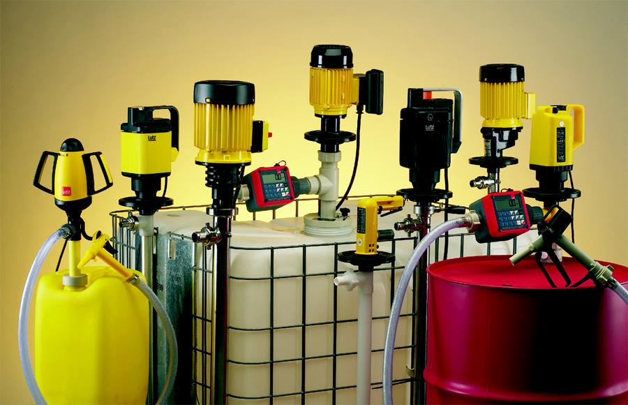 Химические насосы для бочек и прочих емкостей