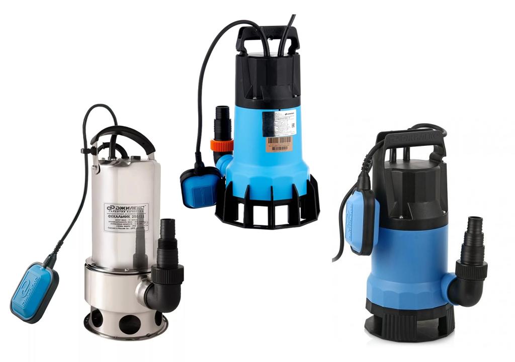 Фекальные насосы Джилекс - виды, устройство, модельный ряд, преимущества фекальных насосов Джилекс, выбор и установка.