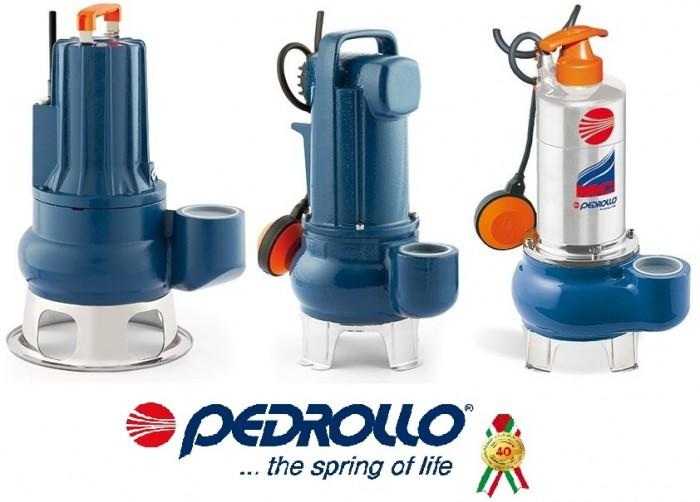 Фекальные промышленные насосы Pedrollo