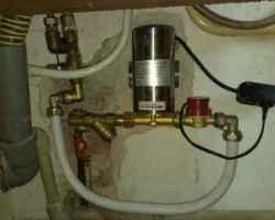 Насос для увеличения давления воды в квартире