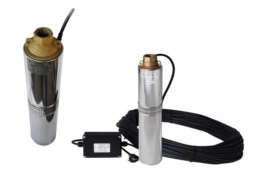 Глубинные насосы Водолей для скважины - модели, устройство, характеристики глубинных насосов Водолей, выбор, установка и эксплуатация.