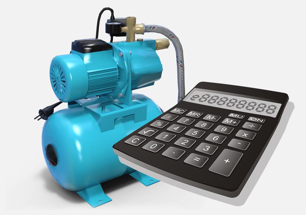 Калькулятор расчета глубины всасывания насосной станции.