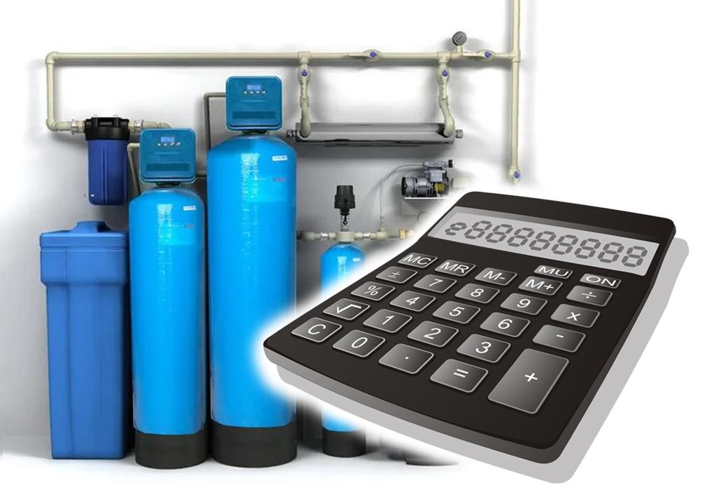Калькулятор расчета пикового расхода воды для выбора системы фильтрации.