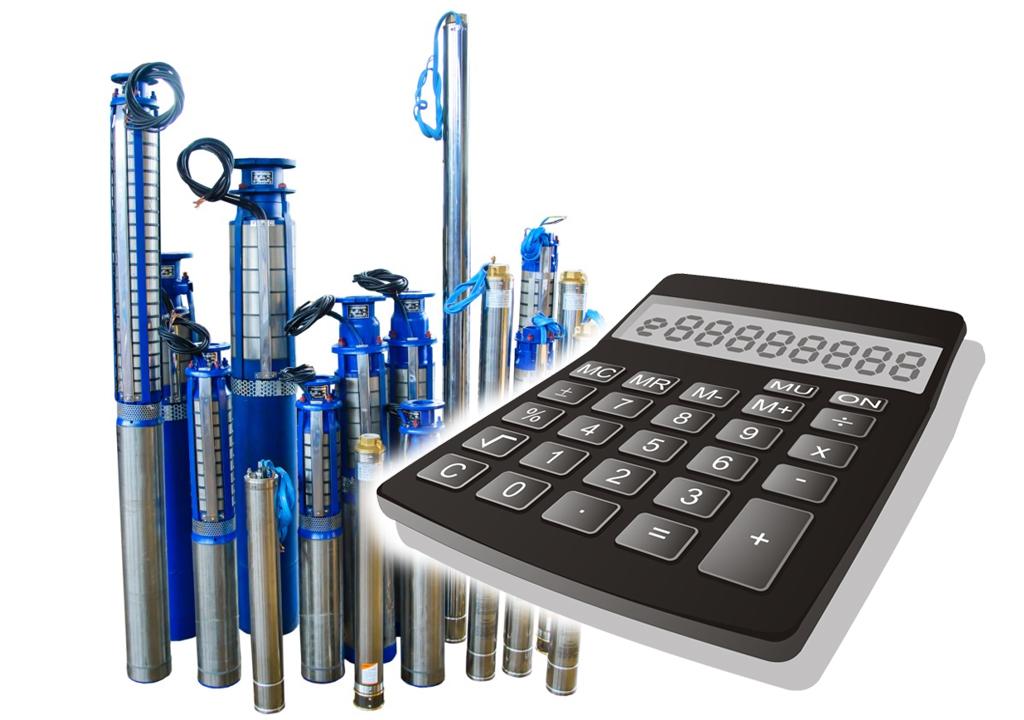 Калькулятор расчета производительности скважинного насоса поможет правильно выбрать насос способный в полной мере обеспечить водой.