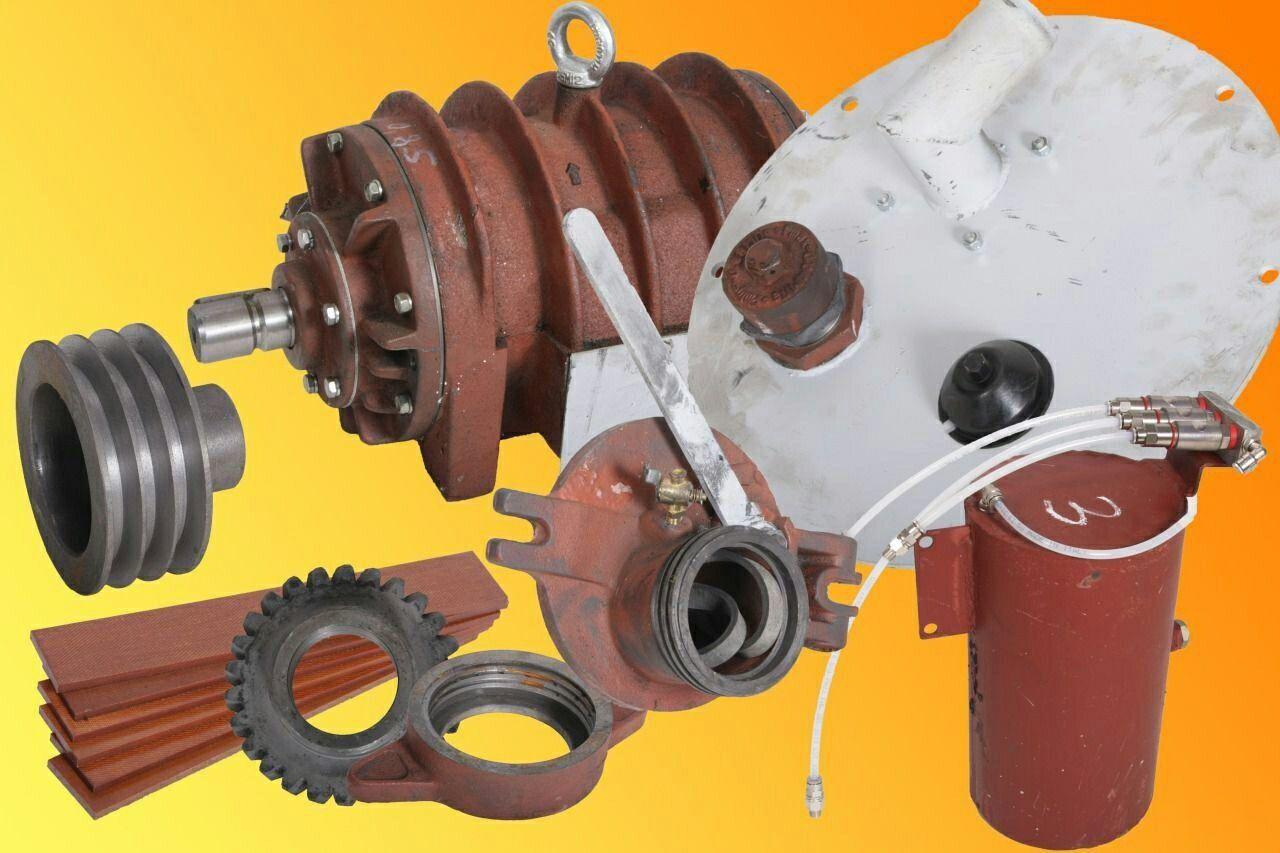 Комплектация вакуумного насоса для ассенизаторской машины