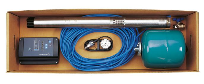 Комплект для автоматического водоснабжения с автоматикой Грундфос