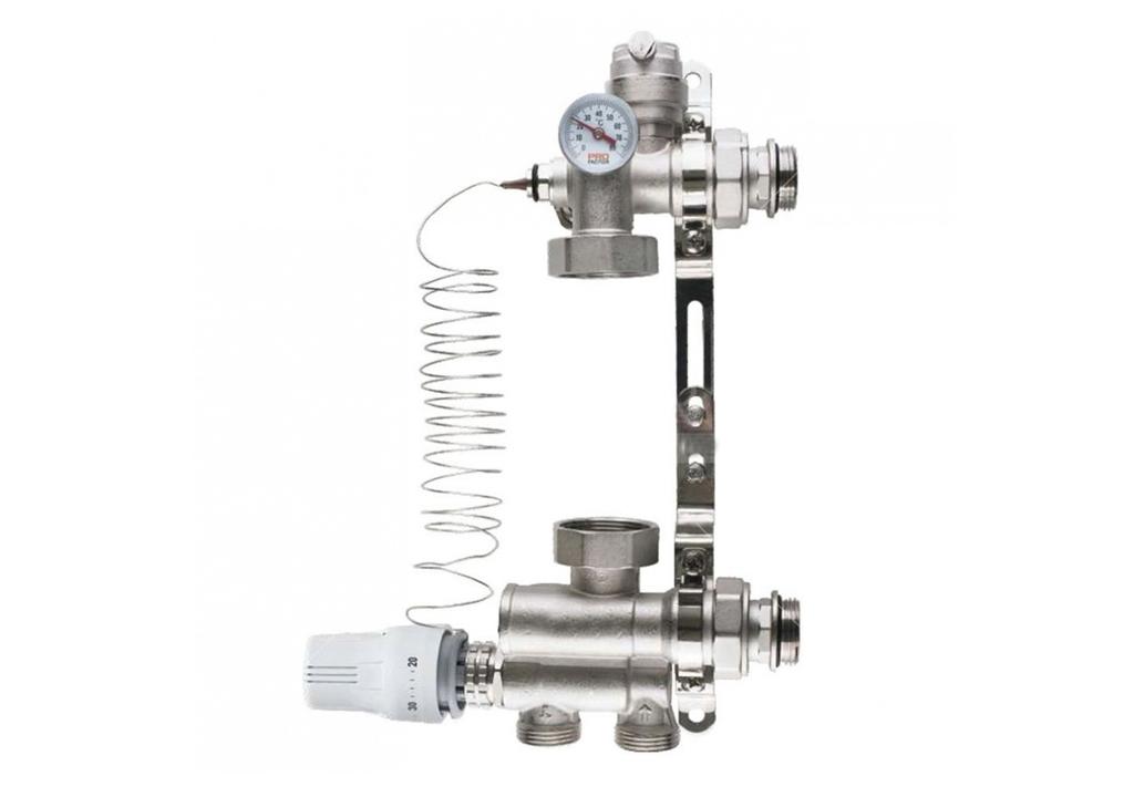 Что такое насосно-смесительный узел, в чем предназначение, устройство, принцип работы, а также, монтаж насосно-смесительного узла.