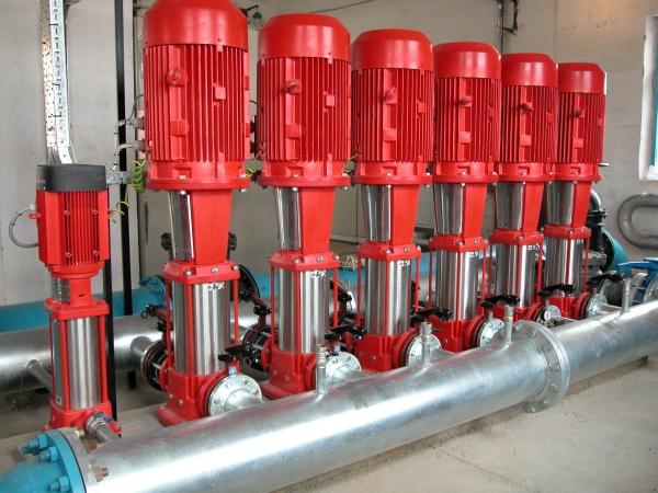 Блочно-модульная установка насосов пожаротушения