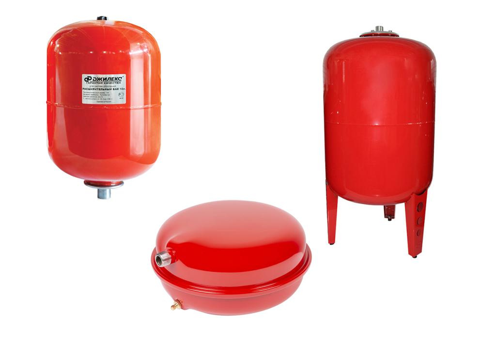 Расширительные баки Джилекс для отопления - назначение, устройство, модели, объем расширительных баков Джилекс, установка.