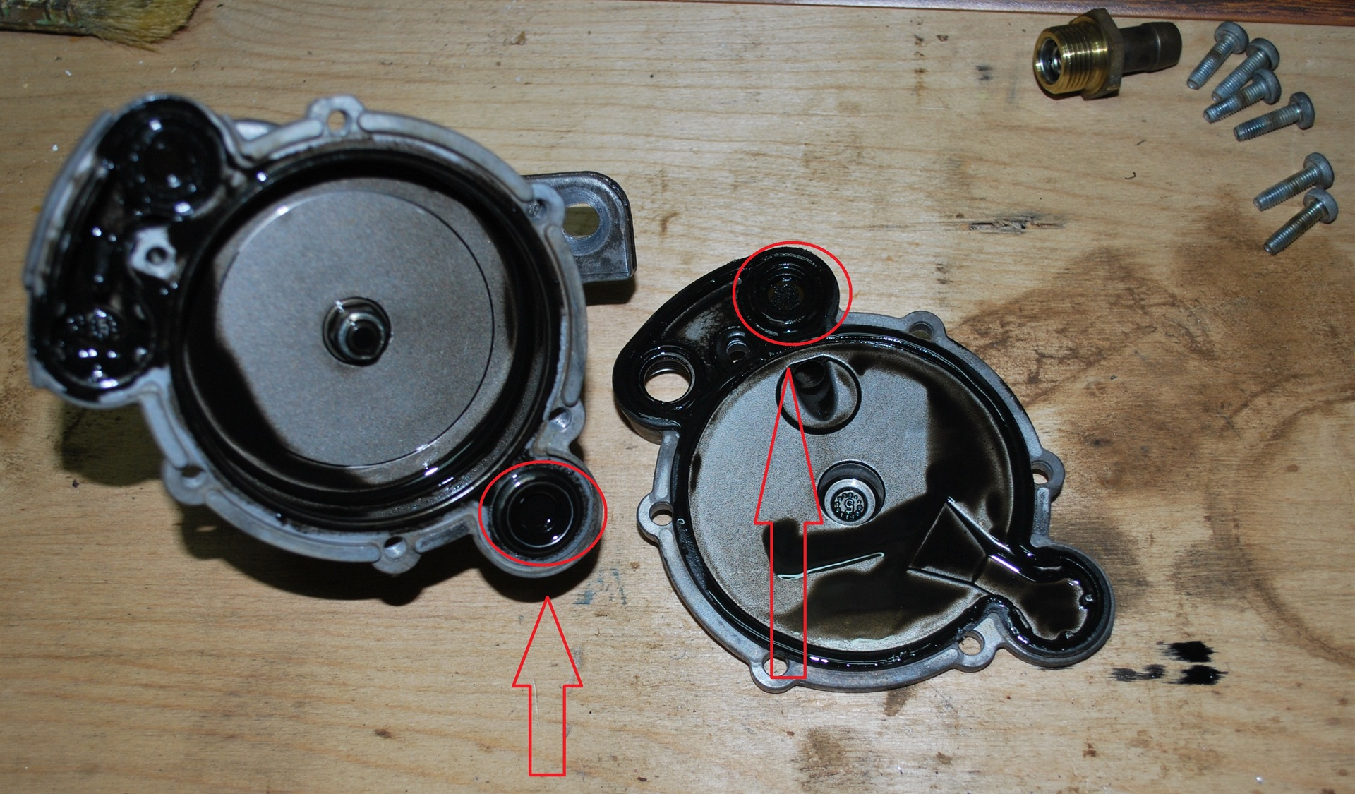 Ремонт вакуумных насосов: разборка, как отремонтировать?