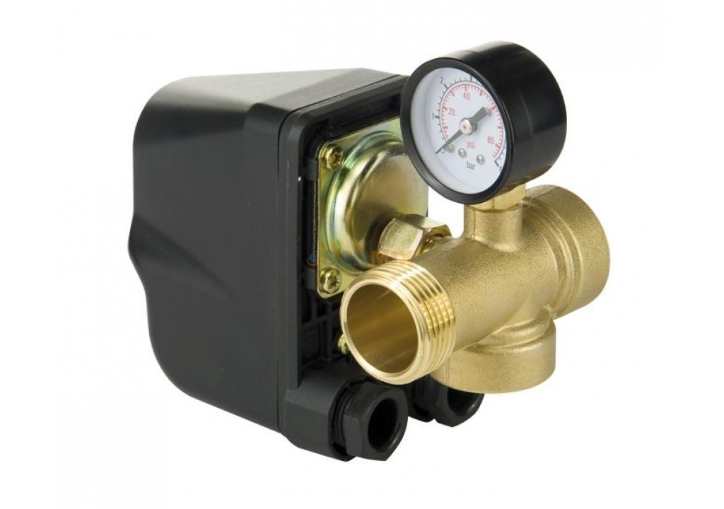 Что такое реле давления для гидроаккумулятора, назначение, устройство, подключение, регулировка реле давления для гидроаккумулятора.