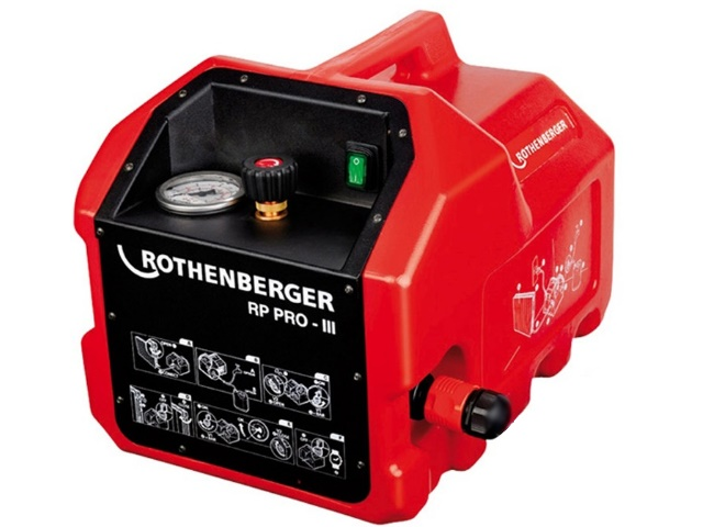 Опрессовочный насос электрический Rothenberger RP PRO-3