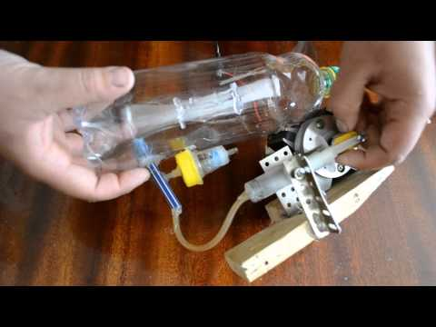 Самодельный аквариумный компрессор