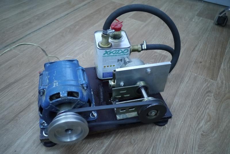 Самодельный вакуумный насос для откачки воздуха