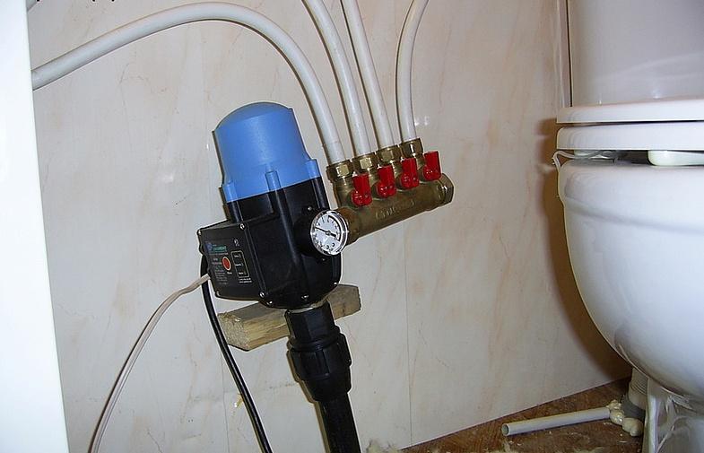 Автоматика Джилекс в системе водоснабжения