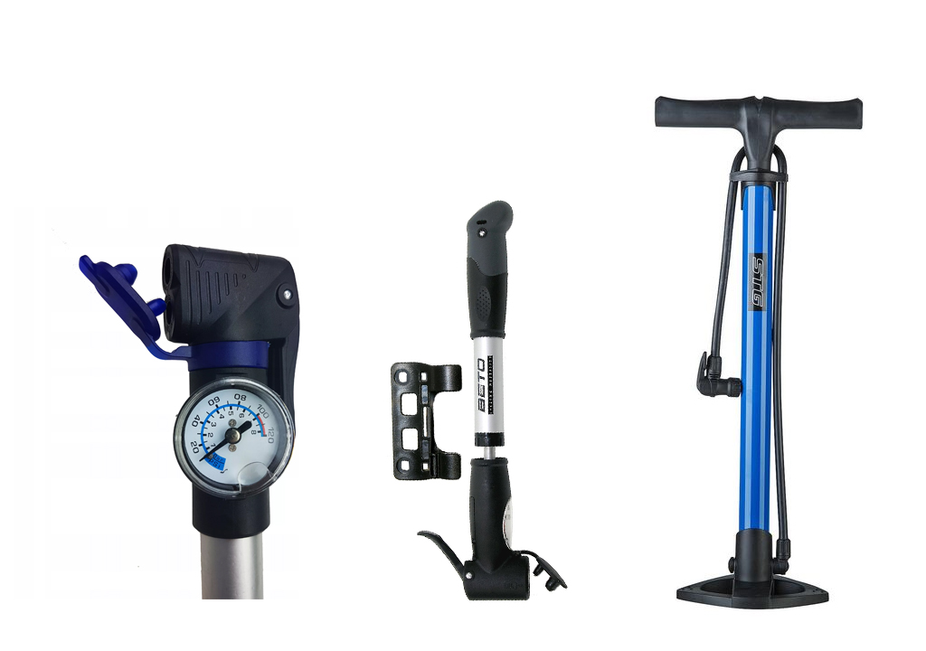 Велосипедный насос - какие бывают, принцип действия, производители и модели, а также, как выбрать насос для велосипеда.