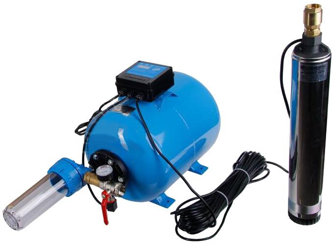 Водомет Джилекс с насосоной станцией обеспечивают полную автоматизацию водоснабжения