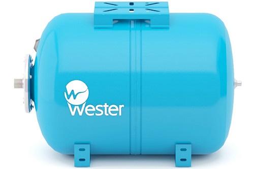 Бак гидроаккумулятор Вестер для повысительного насоса в системе водоснабжения