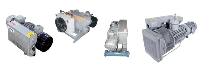 Серия RA - пластинчато-роторные вакуумные насосы