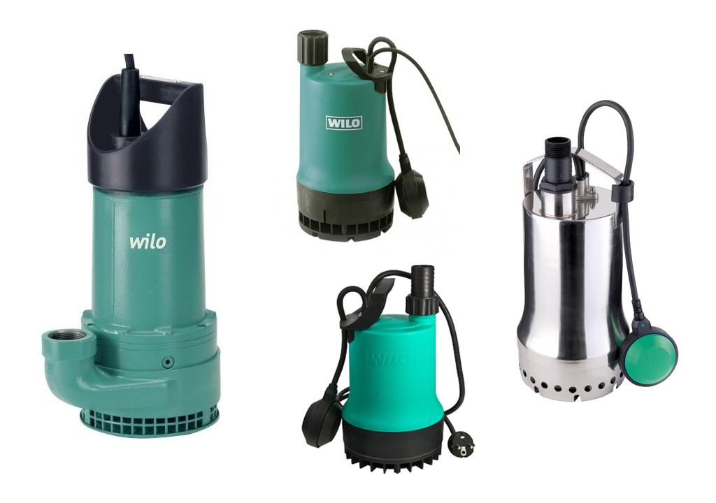 Что такое дренажный насос Wilo (Вило), модельный ряд, характеристики, а также, как выбрать, установить и эксплуатировать дренажный насос Вило.