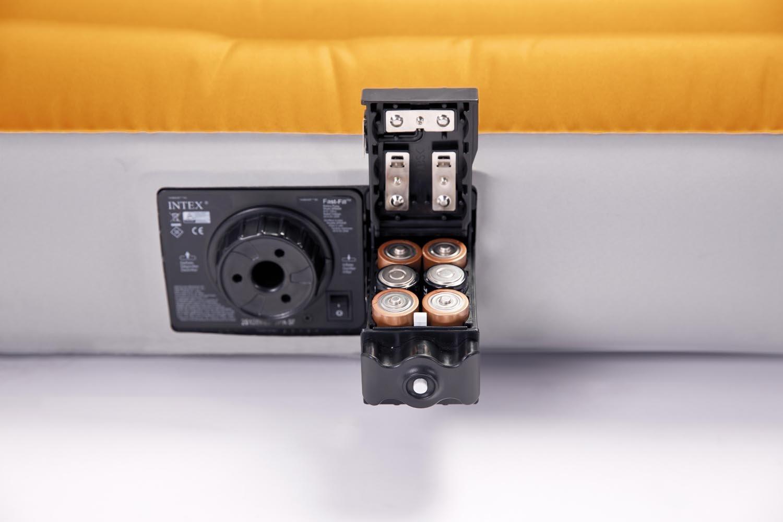 Встроенный насос на батарейках