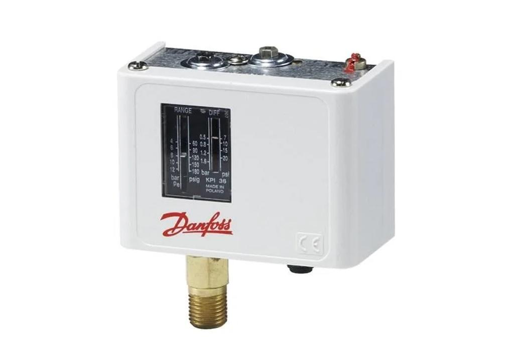 Что такое реле давления Danfoss (Данфосс), назначение, устройство, принцип работы, виды реле давления Danfoss, установка, обслуживание.