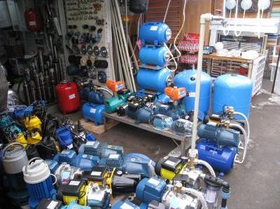 Широкий ассортимент насосного оборудования предлагают Киевские рынки