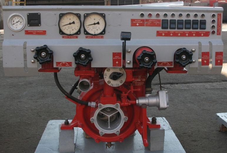 Вакуумный пожарный насос