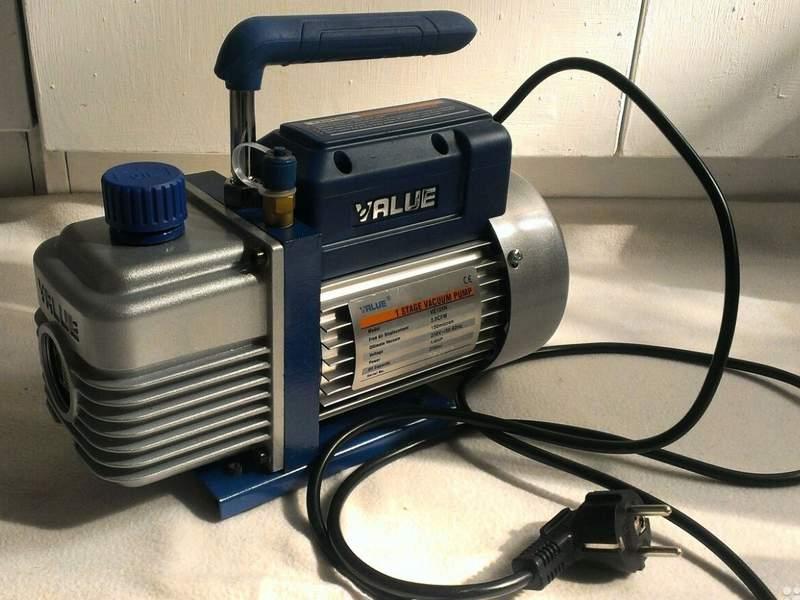 Вакуумный насос Value VE125N 70л/м 150микр