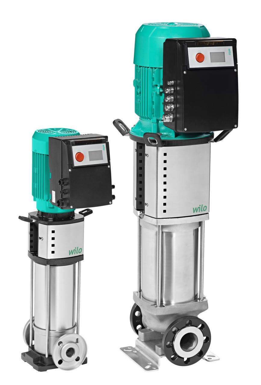 Вертикальный центробежный насос Wilo HELIX VE 1012-2/25/V/KS