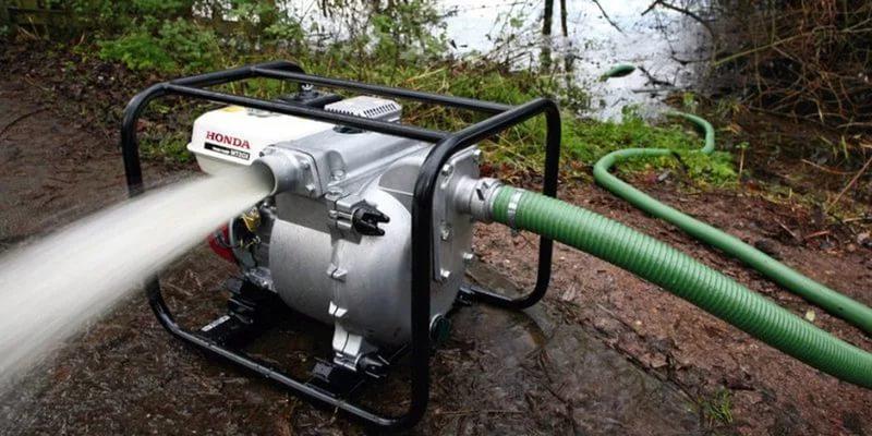 Мотопомпа для откачки воды