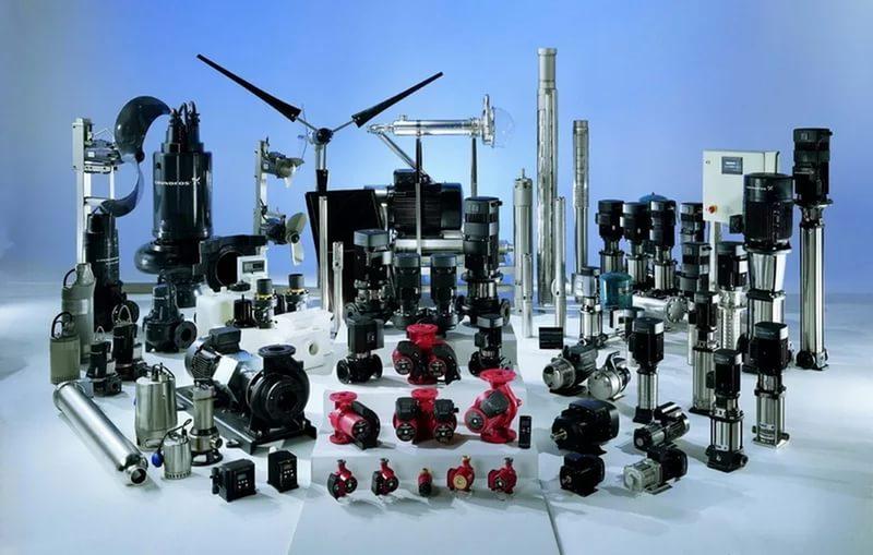 Разновидности насосного оборудования.