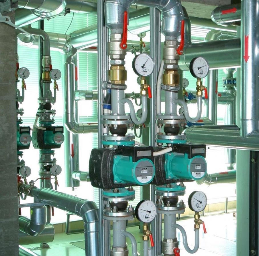 Циркуляционные насосы Вило в системе отопления