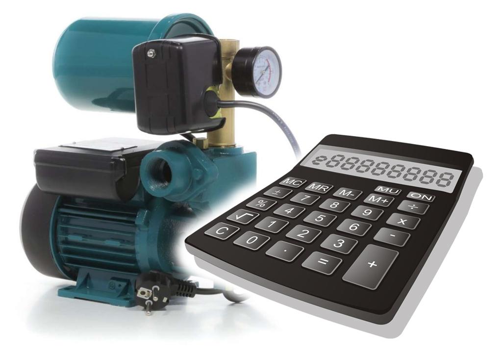 Калькулятор расчета напора для насосной станции с пояснениями.