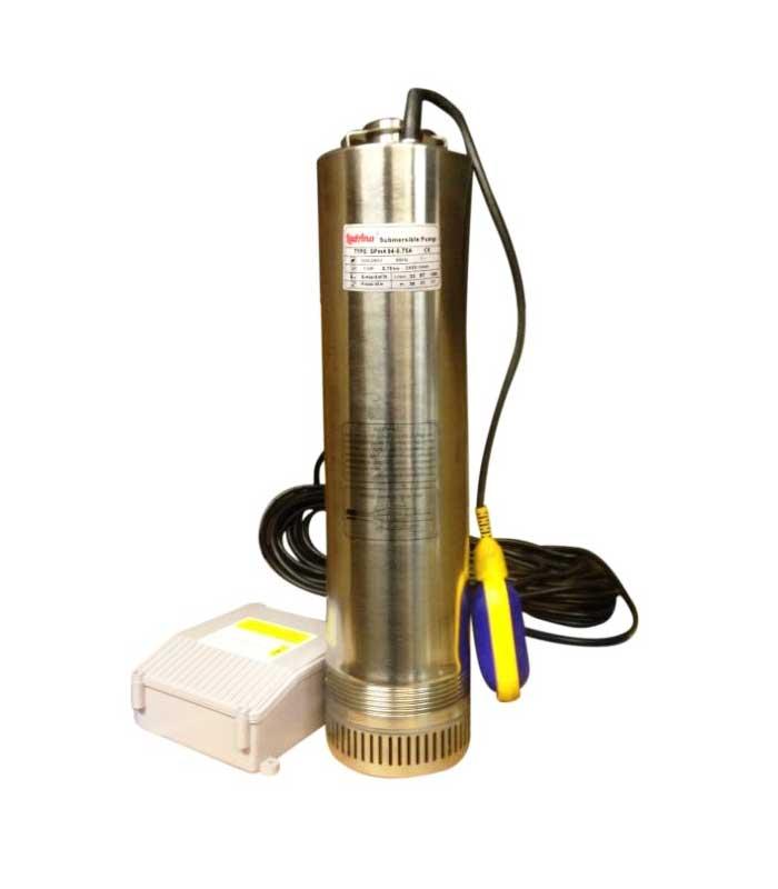 Купить насос колодезный SPm 406-1,1A LadAna мощностью 1,1 кВт с поплавковым выключателем и пультом в магазине насосов nasosovnet.ru