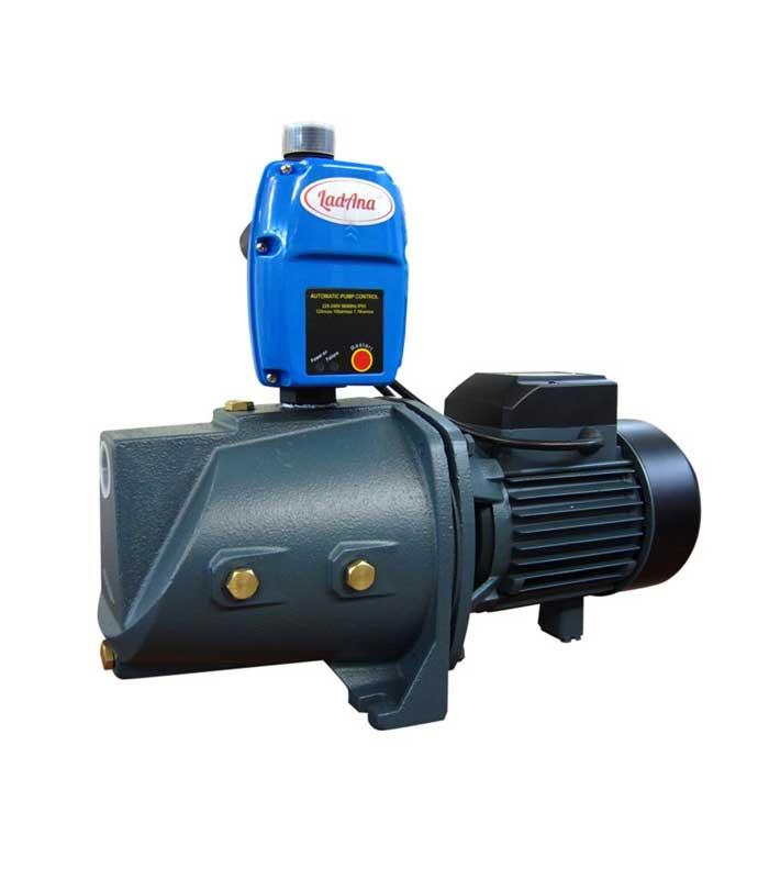 Купить поверхностный самовсасывающий насос-автомат JET 75M LadAna (0,75 кВт) по отличной цене в интернет магазине насосов nasosovnet.ru.