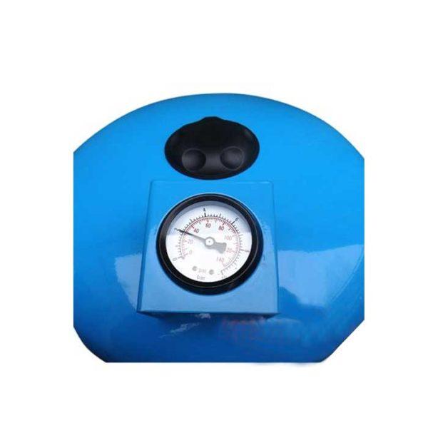 Гидроаккумулятор 100 л вертикальный с манометром LadAna