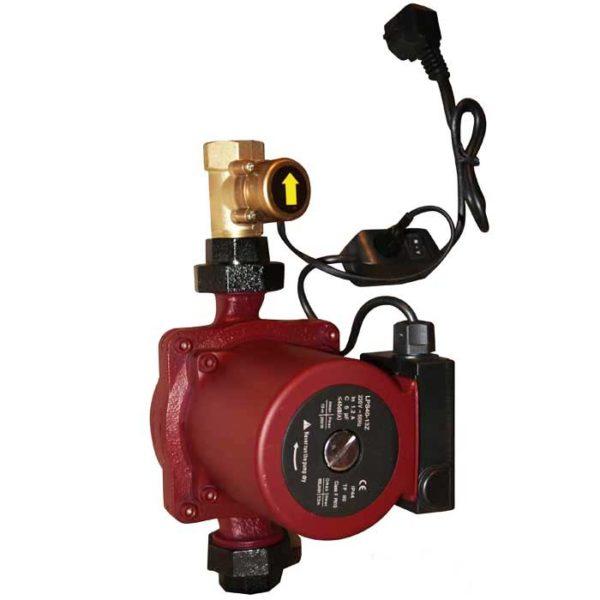 Купить насос повысительный LPS-25-13/180 Z LadAna (0,25 кВт) с реле протока, кабель 1м, комплект присоединения, в магазине nasosovnet.ru